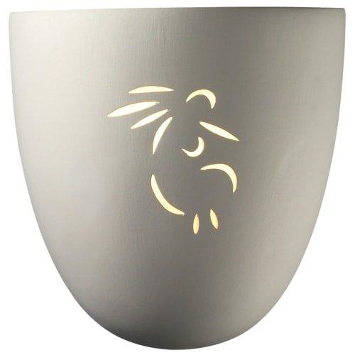 Justice Design Group CER-9030W-KOKO Sun Dagger Single Light 9-1/4
