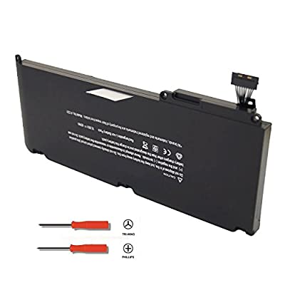 LQM New Laptop battery for Apple A1331 A1342 13.3 Inch MacBook Unibody (for MacBook Late 2009 Mid 2010) MacBook Air MC234LL/A MC233LL/A, fit: 661-5391 020-6580-A from Lqm