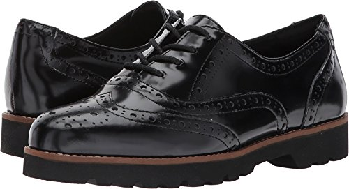 Earth Womens Santana Earthies Black Brush-off Leather 5.5 M Us
