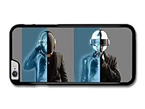 """AMAF ? Accessories Daft Punk Skeleton X Ray case for iPhone 6 Plus (5.5"""")"""