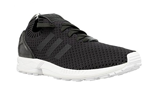 Adidas Originals ZX Flux PK Gris Baskets Mode Homme, Charbon, 40 EU