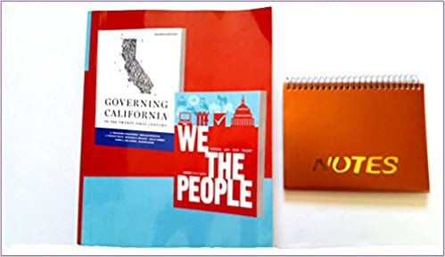 2 Book Combo Includes We The People 9th Edition Textbook By