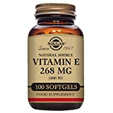 Solgar - Vitamin E 400 IU Mixed (d-Alpha Tocopherol & Mixed Tocopherols) 100 Softgels
