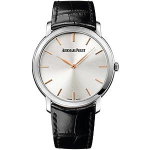 Best Epic Trends 41yxhn7xxfL._SS300_ Audemars Piguet Jules Audemars Extra Thin Silver Dial Automatic Mens Watch 15180BCOOA002CR01