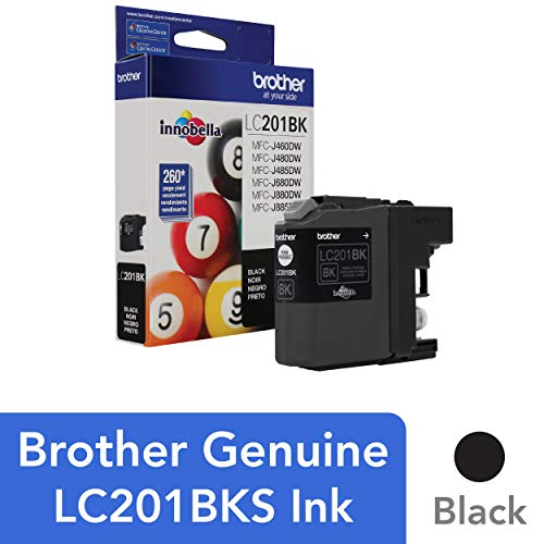 Brother Genuine Standard Yield Black Ink Cartridge