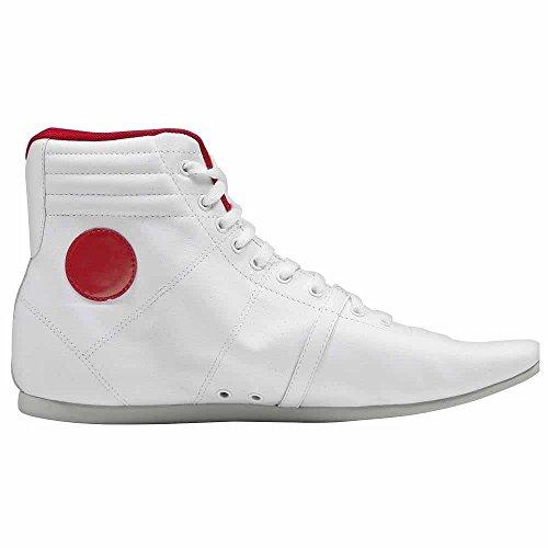 Sneaker / Stivali Donna In Pelle Nike Hijack - Bianco Bianco