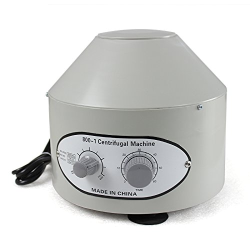 Zeny Desktop Electric Centrifuge Lab (Timer 0-60min) 0-4000 Rpm Cap:20ml X 6 Tube (800-1) 110v by Jayu