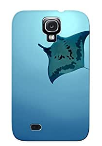 Hot Snap-on Animal Manta Ray Hard Cover Case/ Protective Case For Galaxy S4
