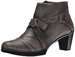 Naot Women's Vistoso Boot, Luggage Brown Leather, 38 EU/6.5-7 M US