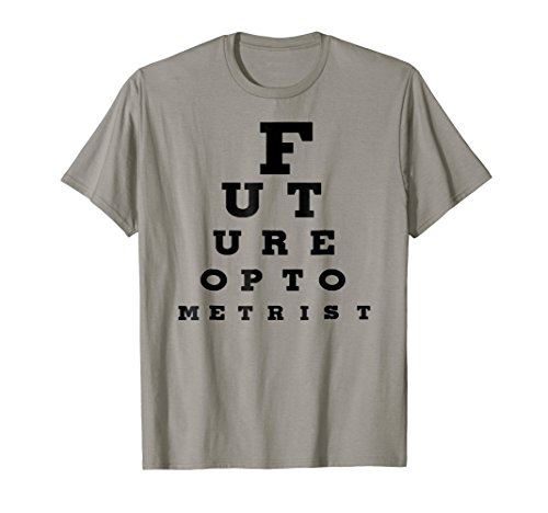 Future Optometrist Eye Chart Shirt Optometry School Student