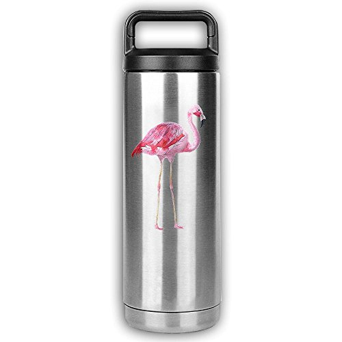 Printable Halloween Costume Party Invitations (Vacuum Insulated Stainless Steel Water Bottle Portable Cup With Wide Mouth& Leak Proof Handle Cap For Hot & Cold Beverages,Retro Flamingo,20 Ounce)