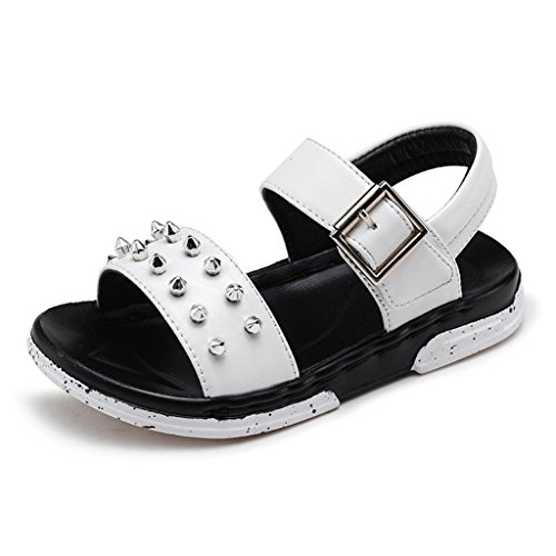 Girls Boys Rivets Open Toe Sandals Kids Summer Outdoor Sport Slip On Casual Sandal Spring Shoes by GIY