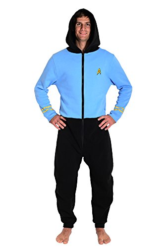 Star Trek The Original Series TOS Blue Spock Loungers (L/XL) -
