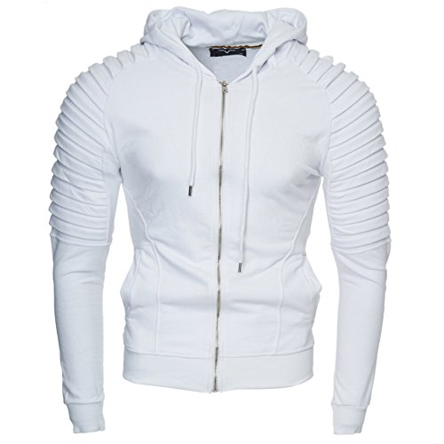 White Cappuccio York Xxl Xl Hoodie modello M S Giacca Zip Con 2xl Felpa L New Originale Uomo Sweatshirt Kayhan gUInqapSwx