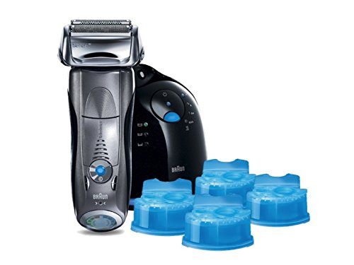 Braun Series 7 790cc-4 Electric Foil Shaver and Clean and...