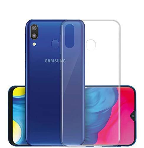 sale retailer f627f afa26 Hifad Case Transparent Back Cover for Samsung Galaxy M20