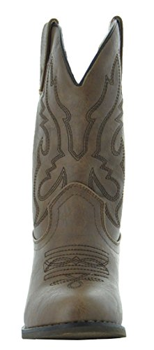 Country Love Little Rancher Kids Cowboy Boots K101-1001 (10, Brown) by Country Love Boots (Image #3)