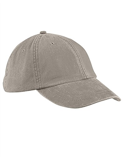 Adams ACLP101IV00001 Low Profile Washed Pigment Dyed Cap, Ivory, One Size