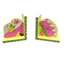 LC Creations Princess in Training Bookends, Set of 2