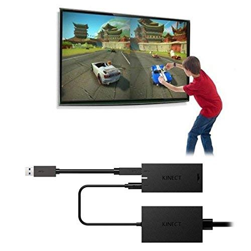 The perseids Kinect Adapter for Xbox One S/X, Kinect 2.0 Sensor Adapter Power Supply for Windows PC Interactive APP Program Development,[Upgraded]