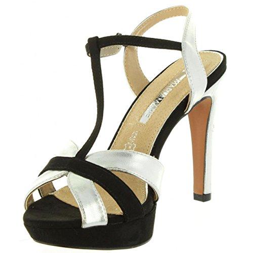 Sandals Maria C40281 67098 Negro Mare Women 8ExzZ