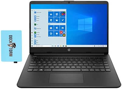 "HP 14z Home and Business Laptop Google Classroom and Zoom Compatible (AMD 3020e 2-Core, 8GB RAM, 128GB SSD, AMD Radeon Graphics, 14.0"" HD (1366x768), Wifi, Bluetooth, Webcam, SD Card, Win 10) with Hub"