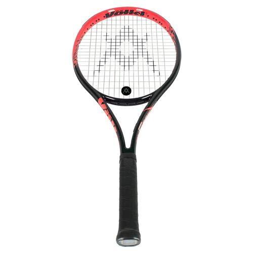 Volkl-Team Speed Black and Lava Tennis Racquet- 888971026805