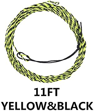 12FT 3.9m Geflochtene Fliegenschnur Tenkara Schnur 17LB 11FT XW-Fishing Line 3.6m Color : 11FT Gold 13FT Tenkara Fliegenschnur 3.3m