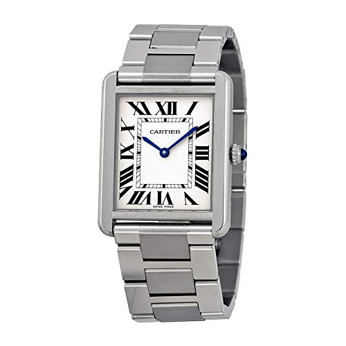 Cartier Men's W5200014 Tank Solo Large Stainless Steel Watch