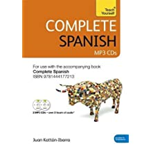 Complete Spanish (Learn Spanish with Teach Yourself): Audio Support: New edition