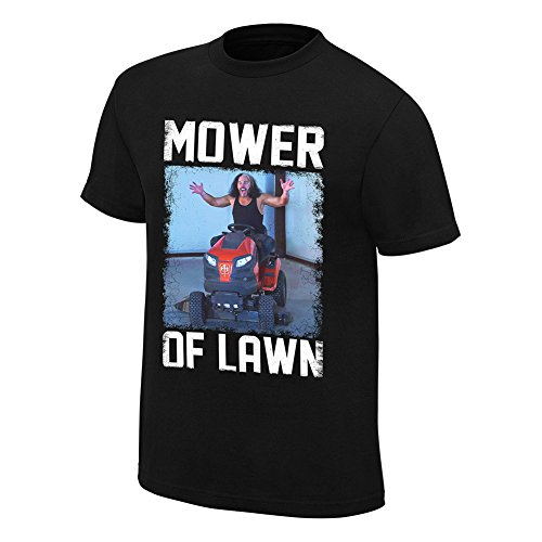 WWE Matt Hardy Mower of Lawn T-Shirt Black 4XL by WWE Authentic Wear