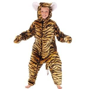Tiger - Disfraz de tigre para niño, talla 10 - 12 años (993178)