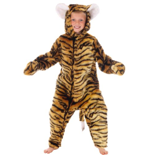 Tiger Costume for Kids. 7-9 Years. -