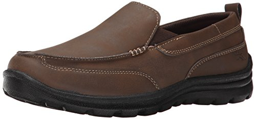 Deer Stags Zesty Casual Slip-On (Little Kid/Big Kid), Brown, 6.5 M US Big Kid