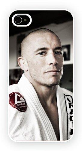 Georges St Pierre UFC iPhone, iPhone 5C, Etui de téléphone mobile - encre brillant impression