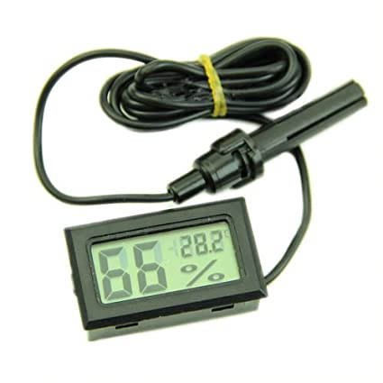 Marvelous Grocery House Mini Digital LCD Thermometer Hygrometer Temperature Humidity  Meter With Probe