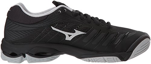 Women's Z4 Shoes Volleyball Lightning Mizuno Silver Wave Black SdnqS4
