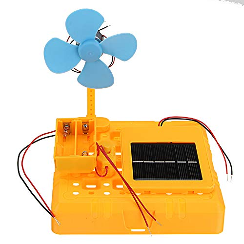 SONSAN DIY Solar Hybrid Fan Model Scientific Experiment Invention Assembling Educational Kit Kids -