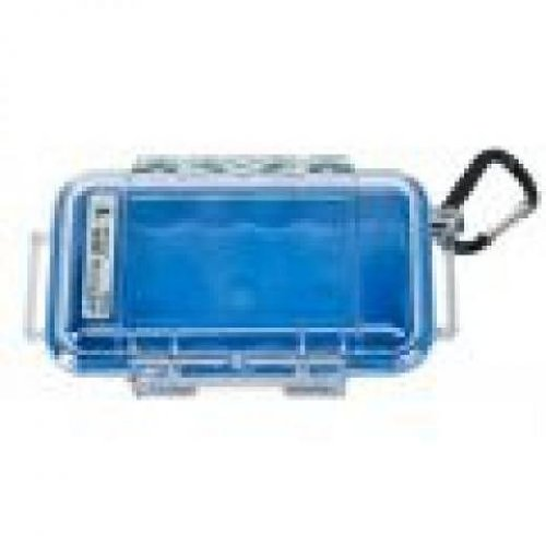 Pelican 1015 micro case blue with clear lid over $150
