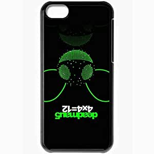 Personalized iPhone 5C Cell phone Case/Cover Skin Deadmau5 6 Music Black