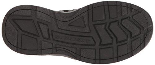 Skechers Sport Heren Outdoor Verstelbare Visser Sandaal, Zwart / Grijs, 9 M Ons