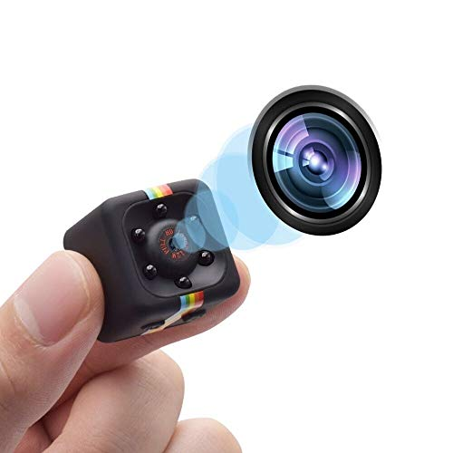 - Cop Cams Zohulu 1080P Mini Spy Hidden Camera As Seen On TV, Smallest Wireless Body Cams Action Camera, Convert Security Nanny Cam with Night Vision and Motion Detection, Built-in Battery, No WiFi Need