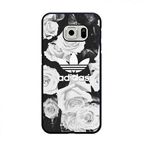 wholesale dealer 48203 c131b Floral Designs Phone Hülle,Adidas Samsung Galaxy S7 Edge Cover,Protection  Hülle Logo Cover for Adidas Logo