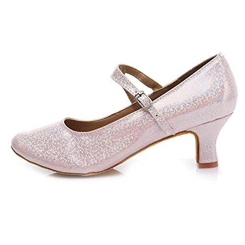 Pink Tango shoes femmes pour les Talon de filles femmes 5CM 5CM Amérique danse Chaussures moderne YFF 0PfvxW16W