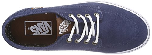 Vans U BRIGATA SUEDE - Zapatillas de Deporte Unisex adulto azul - Bleu ((suede) Insi