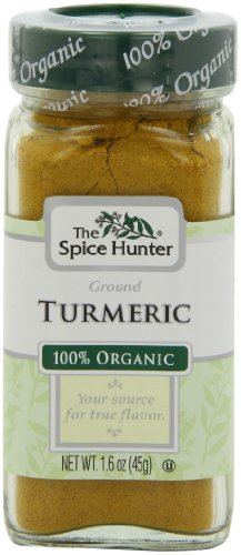 The Spice Hunter Organic Ground Turmeric,  1.6-Ounce Jar (Pack of 3)