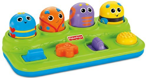 5 X Fisher-Price Brilliant Basics Boppin' Activity Bugs by Fisher-Price
