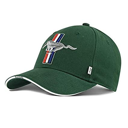 Colección Lifestyle Original Ford Mustang Verde Gorra de Béisbol ...