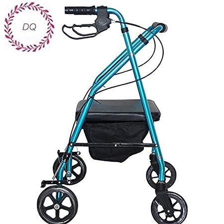 DQoou Súper Ligero Andador Ligero de Aluminio con Freno de ...