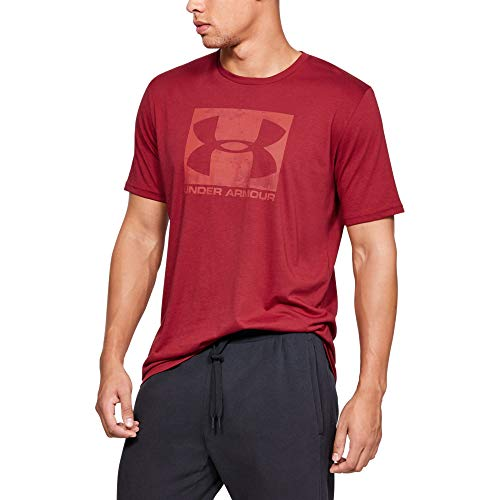 Under Armour Men's Boxed Sportstyle Short Sleeve Shirt, Aruba Red (651)/Barn, X-Large